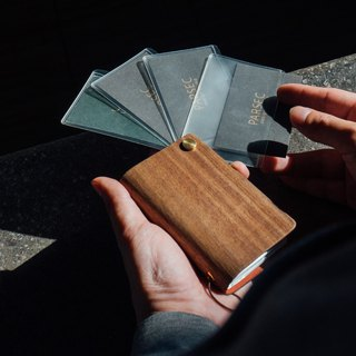 【TREETHER】Walnut Credit Card Holder