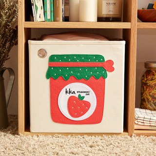 American kaikai & ash Toy Storage Box - Strawberry Jam