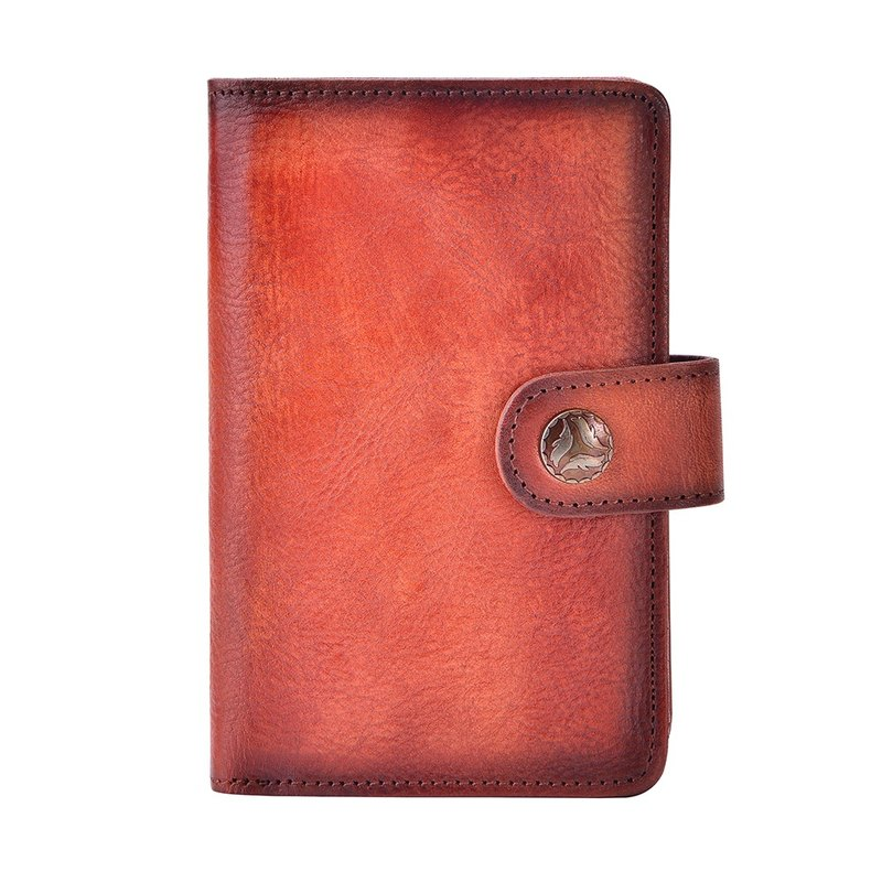 Valentines Day Gift Leather wallet for Women with Clip