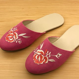 Indoor shoes :Rose(magenta)