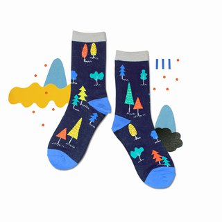 Woods Indigo Unisex Crew Socks | mens socks | womens socks | comfortable socks