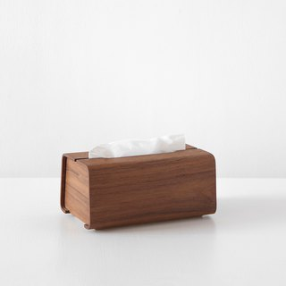 Tetrad handmade wooden carton tray L | Walnut