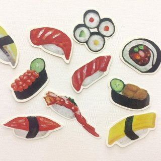 Sheng He Sushi Stickers - Ten Penetration