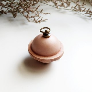 Leather bell key ring pet bell