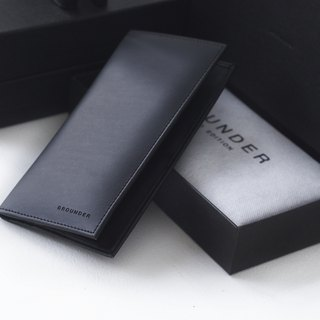 Leather Men Long Wallet