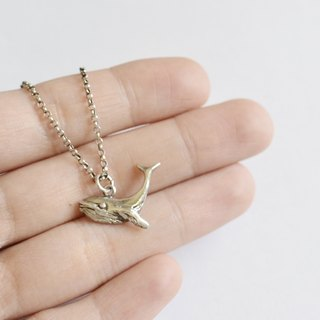 Humpback Whale - Sterling Silver Necklace Humpback Whale-925 silver necklace