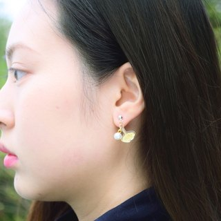 Ginkgo Earrings - Jewelry - Ginkgo Jewelry - flower Earrings