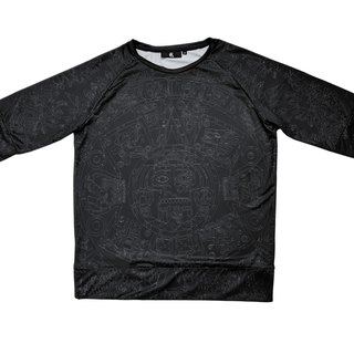 Mayan civilization six sleeves perspiration