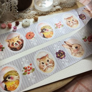 Rabbitoffee Masking Tape (No.8 - Le Le Portrait)