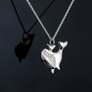 Moby Dick - silver necklace