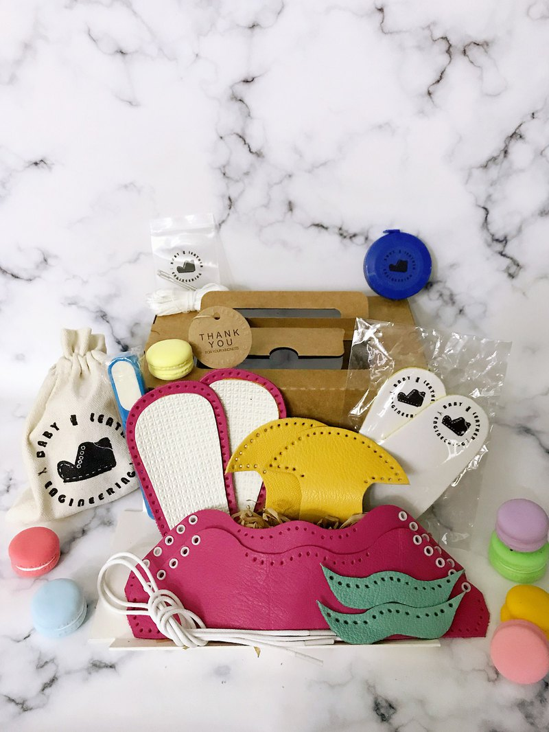 Baby Shoes Toddler Shoes DIY Material Bag DIY Leather Day Babies Baby Gifts Moon Gift Full Moon