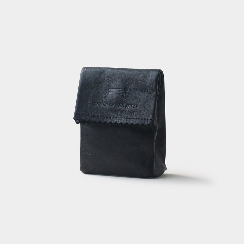 paper key pouch : black