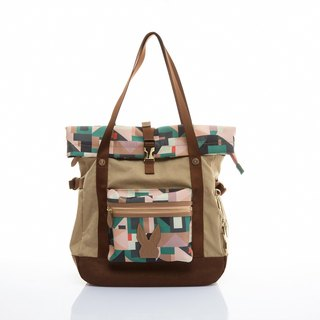 Khieng Atelier Diamond Rabbit Library Adventure Book Bag