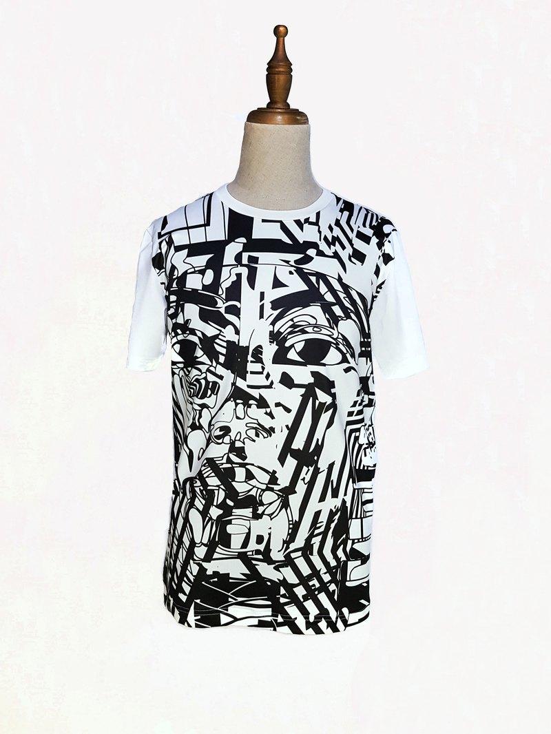 阿登森林迷彩 X 圖坦卡門 設計款Tshirt
