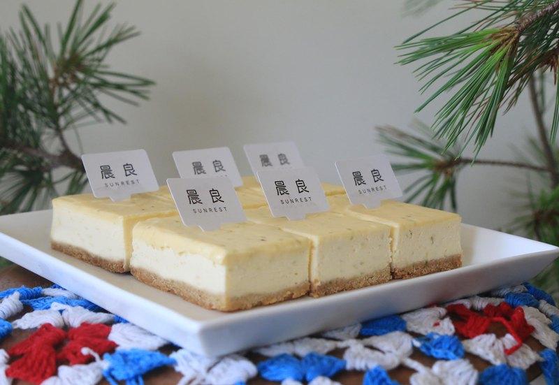 嗜酸最愛單品-青檸基本款乳酪蛋糕