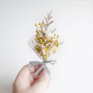 [Q-cute] Dried Flower Small Corsage Series - Full Sky Stars