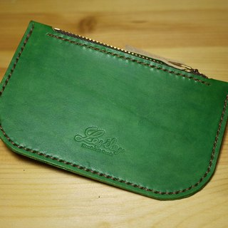 Leather Purse Leather purse carry green