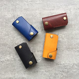 Simple Leather Key Case / Car Key Case Free customized multicolor optional