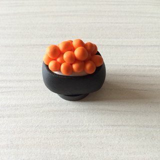 Grip sushi clay / magnets / salmon eggs