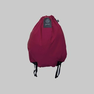 groin waterproof bag - back section (M) - Limited models - single paragraph purple Ningbu