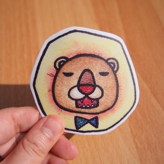 Waterproof stickers - roar roar lion