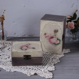 French country distressed logs oil wooden box dip ink 15 grid 12 grid 15ml essential oil wooden box