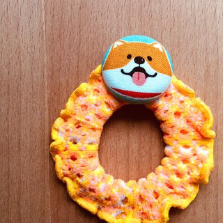MOYA ring fiscal dog Wangwang large map Shiba Inu hair ring