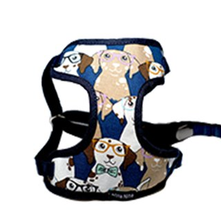 Pet chest back / chest strap cat and dog for full version of the glasses dog