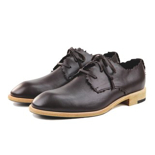 RobinHood M1169 Brown leather Derby shoes