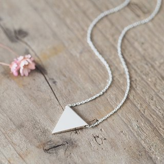 Flag triangle ネックレス 925 Sterling Silver