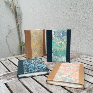 French traditional handmade marble colored paper series [nineteenth century] sheepskin / marble colored paper / handmade paper (four-color spot)