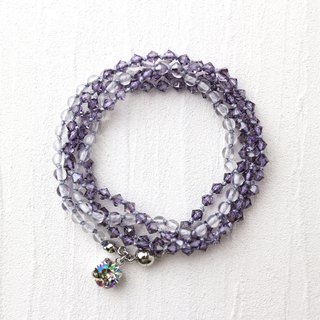 Wrap Bracelet (Purple)