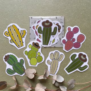 Baby Cactus Sticker Pack