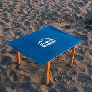【 受注生産 】Indigo dyed 藍染 - WILDERNESS Table Cover 10oz CANVAS