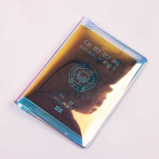 SUMMERING Passport Holder 04 Laser Blue