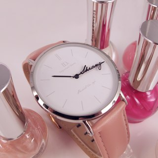 Custom Name Pointer Watch-pink girl (pre-order)