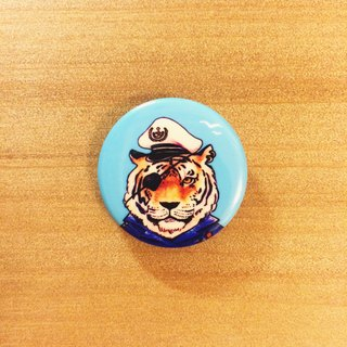Darwa - Brave Tiger Captain - Badge