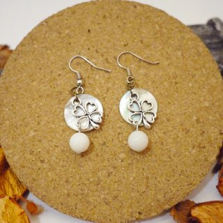 Elegant and lovely natural stone earrings