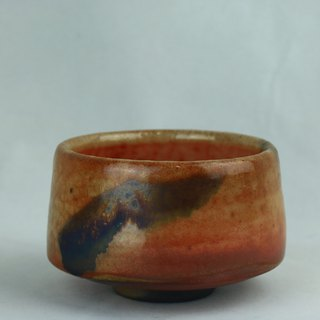 Autumn ~ Shiye Chai Burning Iron Painted Tea Bowl