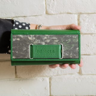 ad:acta Notar - eye-catching wallet - German handmade, upcycling, Nappa