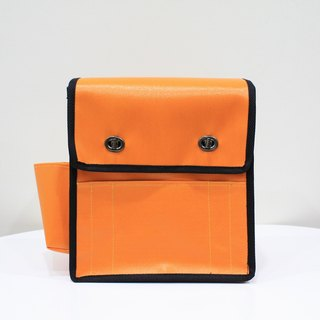 Retro Messenger Messenger Bags Shoulder Bags Messenger Backpack Camera Bag - Orange Orange