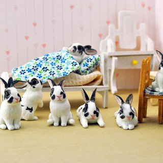 Pet Doll 3-5cm (rabbit) can be used as ornaments handmade custom