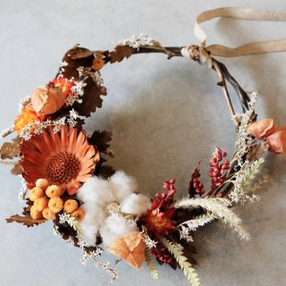 Dried wreath / home decoration rings / bright African sun