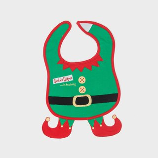 American Frenchie MC Baby Bib - Christmas Helper