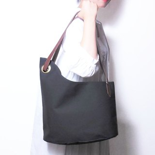 alter asymmetry tote d.gray / アシメトート