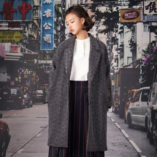 kitann ino composite knit raglan sleeve coat