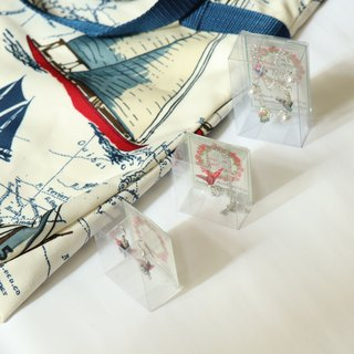 Goody Bag - Lucky Bag Set - Sail Boat with 3 boxes of crane accessories (Random Pattern)