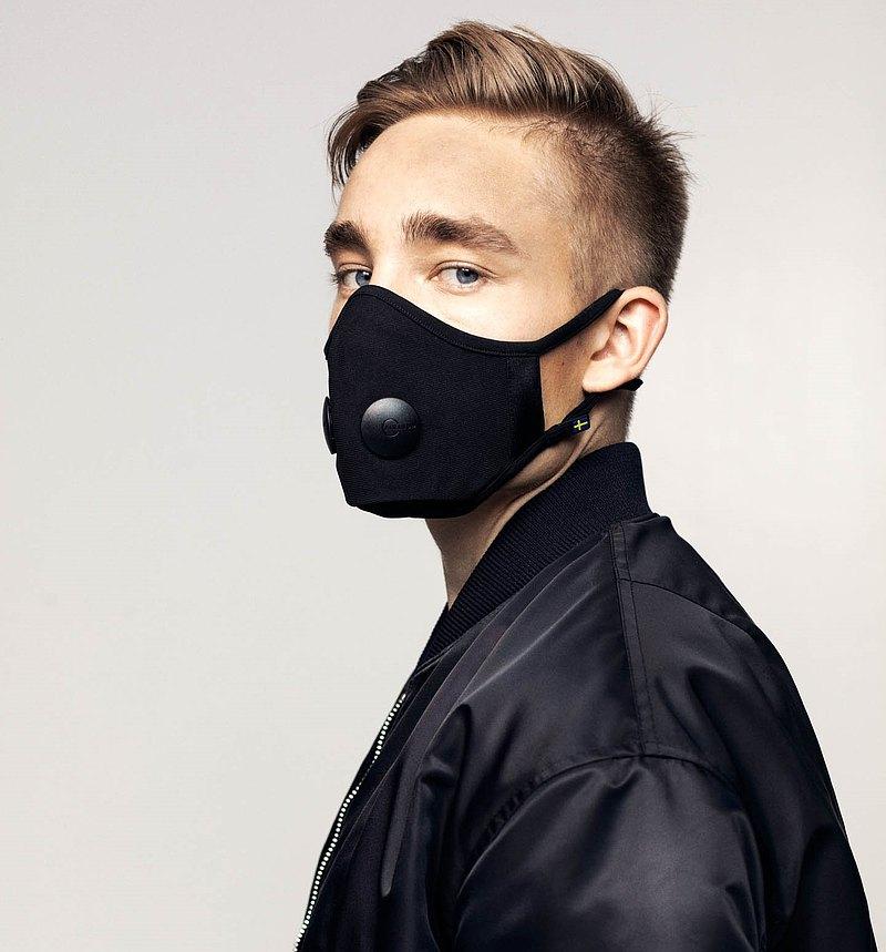 Airinum Urban Air Mask 2.0 口罩 - 瑪瑙黑