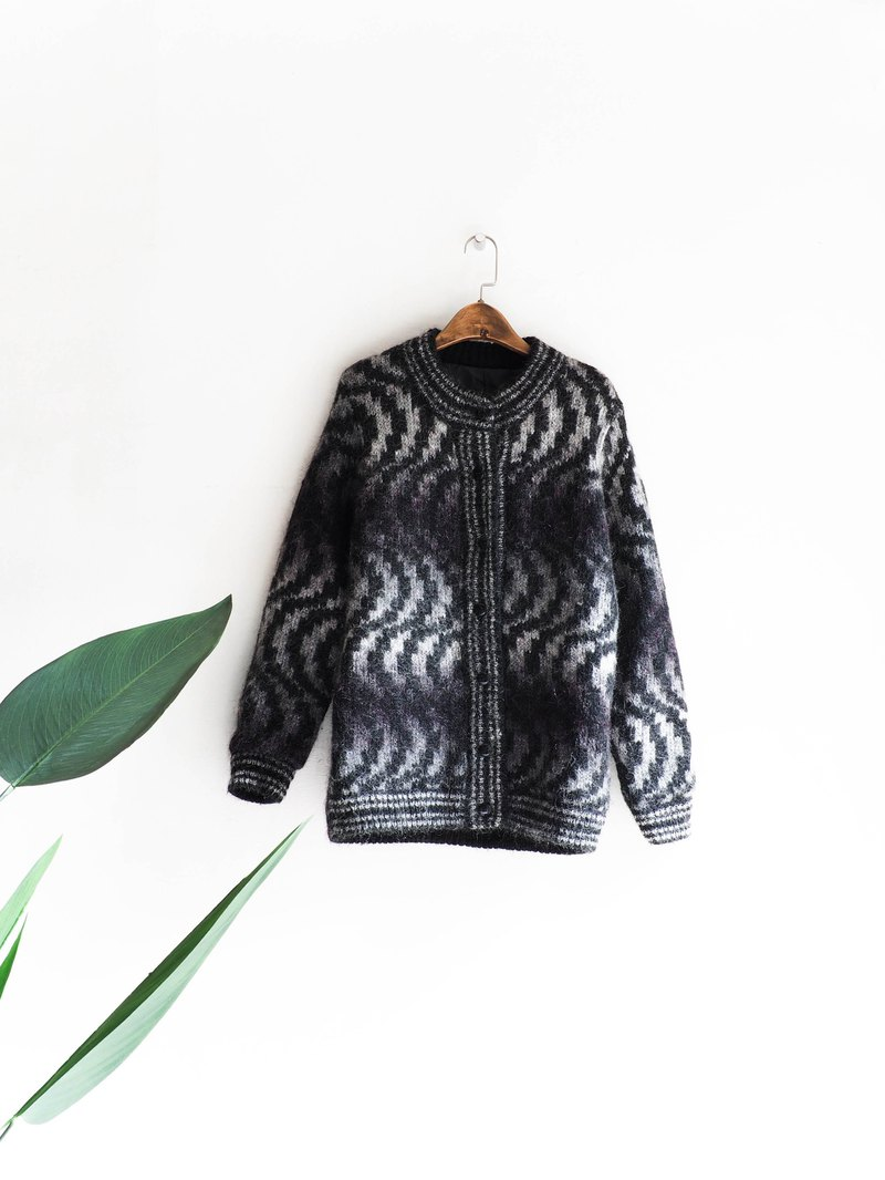 River Water Mountain - Mexico Sun Moon Night Dark Tranquil Landmark Antique Maori Cardigan Cardigan Vintage sweater vintage oversize