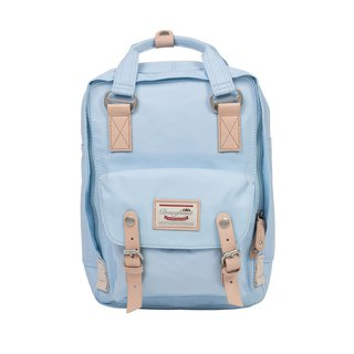 Doughnut Waterproof Mini Macaron Backpack - Ice Blue
